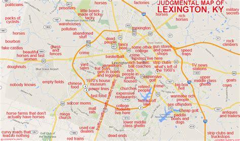 humorous maps  kentucky    perfect