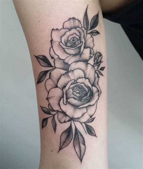 tattoo pen rose by zszywka blackbear studio tattoo pinterest studio