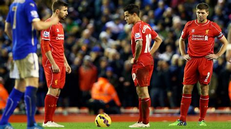 60 mins with steven gerrard lfchistory stats galore liverpool vs leicester city football match summary