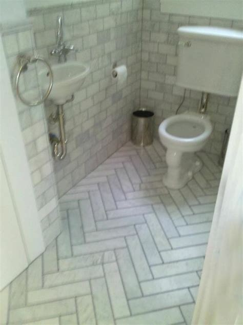 Decor Tiles And Floors by Herringbone Marble Tiles Traditional Bathroom San