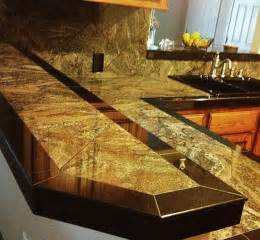 smooth granite tile countertop tile work ideas
