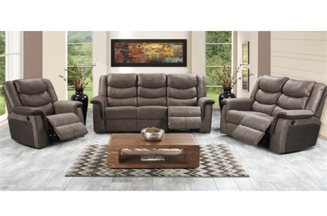 Reclining Lounge Suite by New Home Furnishers 187 Atlanta Recliner Lounge Suite By