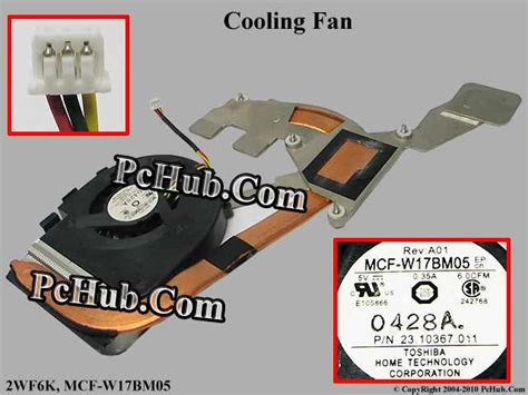 Fan Laptop Dell N4030 dell inspiron 14 n4030 cooling fan 2wf6k mcf w17bm05
