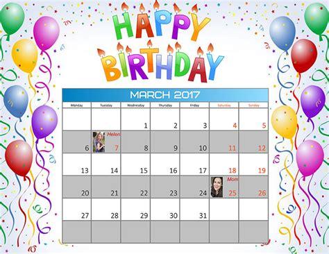 calendar reminder design how to create a birthday reminder calendar creative photo