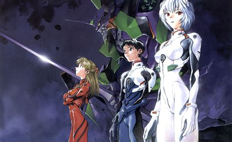 neon genesis evangelion neon genesis evangelion characters wallpaper