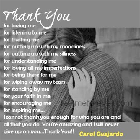 thank you for loving me letter thank you for loving me