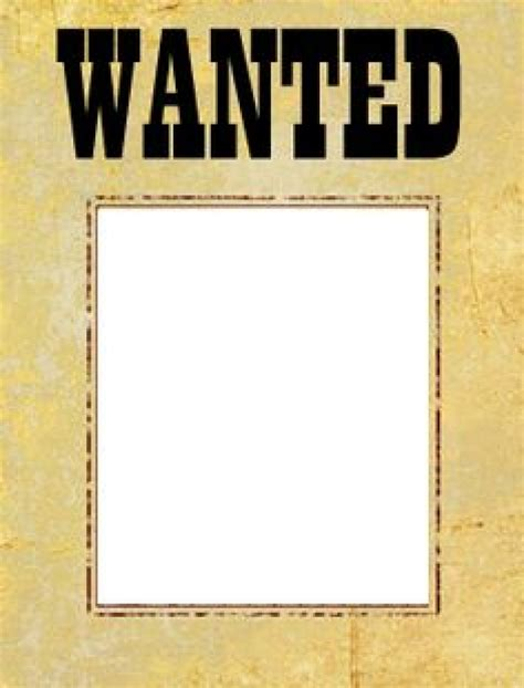 wanted poster templates picture frames most wanted picture frame most wanted