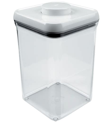 Stainless Steel Kitchen Canister oxo food storage container 4 0 quart in plastic food