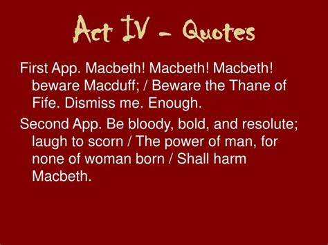 theme quotes in macbeth act 4 ppt macbeth powerpoint presentation id 1279262