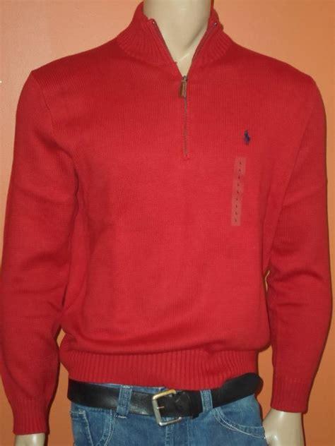 Basic Sweater Polos Size M Xl polo ralph half 1 2 zip sweaters mock neck s m l xl
