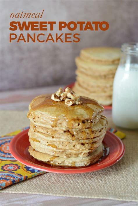 oatmeal sweet potato pancakes recipes