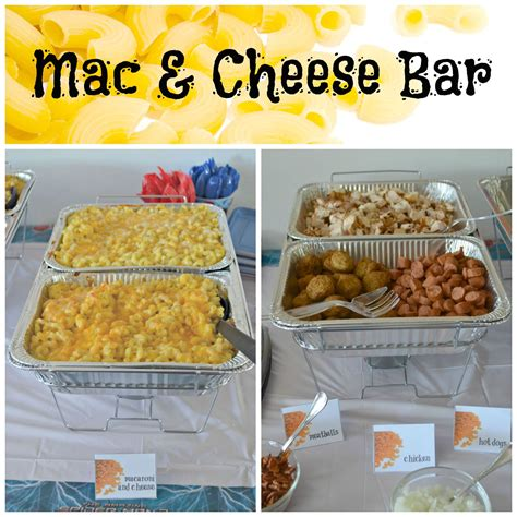 macaroni bar toppings create a mac and cheese bar building our story