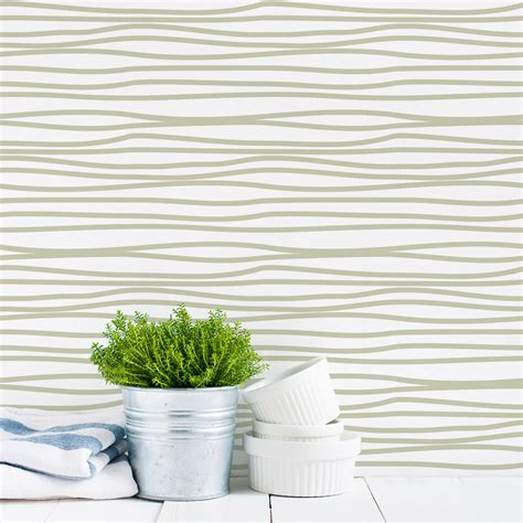 squiggle  removable wallpaper