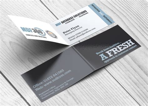 Coated Business Cards