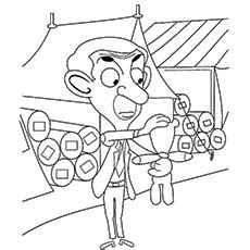 coloring pages mr bean car n 186 10 funny mr bean bean coloring pages for your