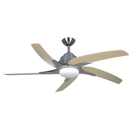 Fantasia Viper Plus Ceiling Fan 54 Inch Stainless Steel Fantasia Ceiling Fan Lights