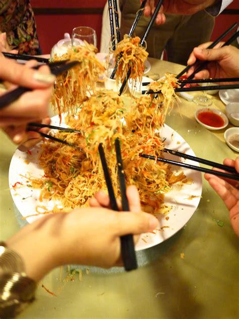 new year malaysia food hei lunar new year dinner food singapore