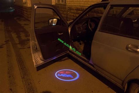lada g4 led 12v led ghost shadow lights for lada