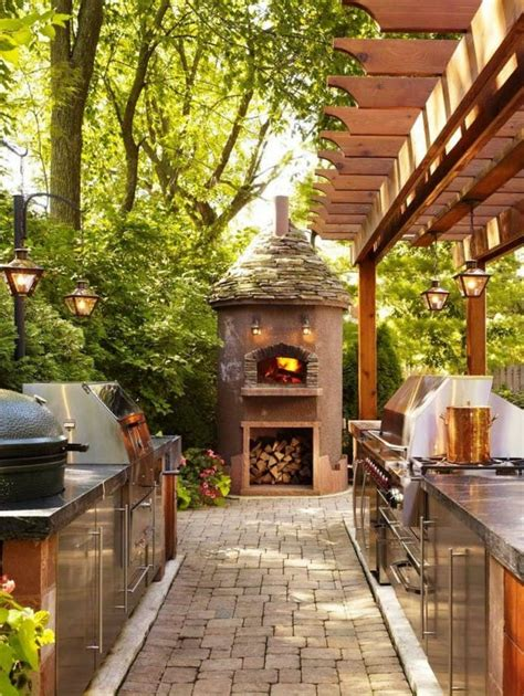 the backyard kitchen 25 of the most gorgeous outdoor kitchens brit co