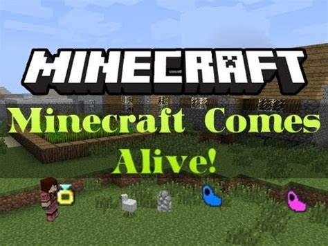In Comes Alive by Minecraft Comes Alive Mod