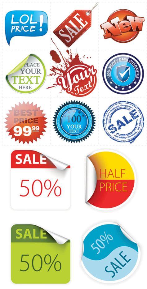 label design rates sales discount vectors label download free vectors