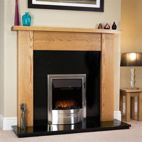 Fireplace Surrounds Oak by Modern Oak Surround Oakfiresurrounds Co Uk