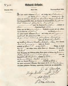 german birth certificate template german records the national institute for genealogical