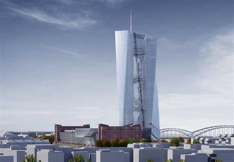 europäische bank frankfurt european central bank ecb frankfurt building e architect