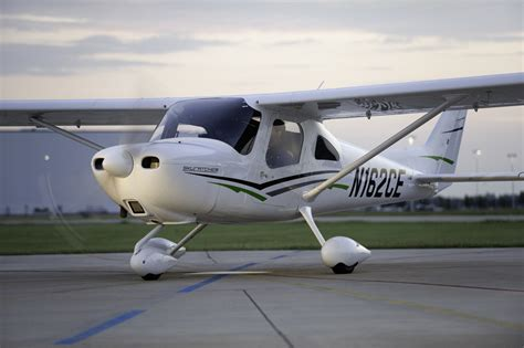 Skycatcher Cabin by Cessna 162 Flying California