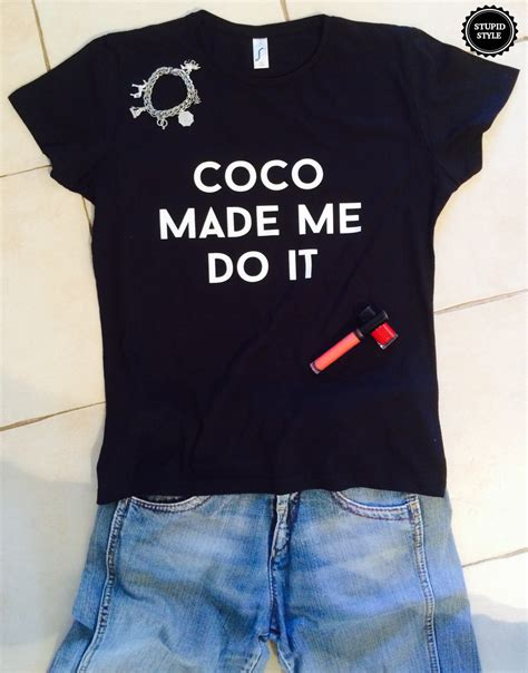 T Shirt Does This T Shirt coco made me do it t shirts for tshirts shirts gifts