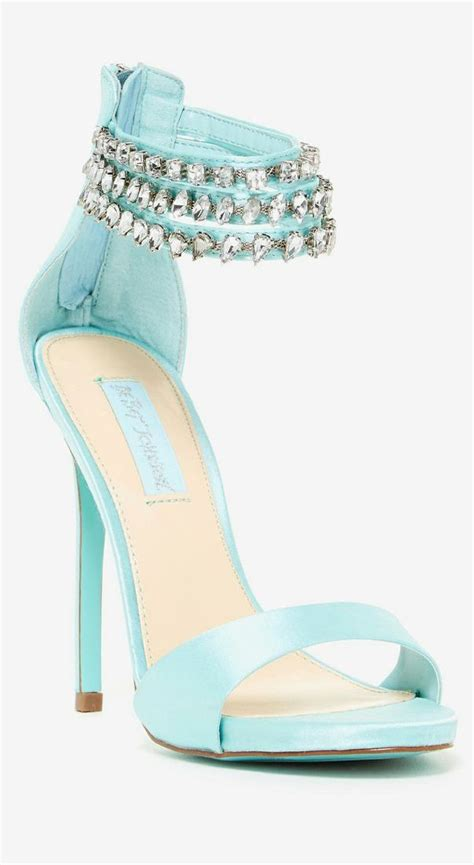aqua high heel shoes mint embellished sandals shoes