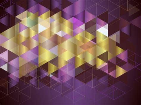 wallpaper abstrak segitiga latar belakang warna warni mosaik vektor abstrak vektor