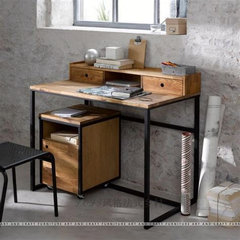 Country Style Working Desk Laptop Study Desk 0003