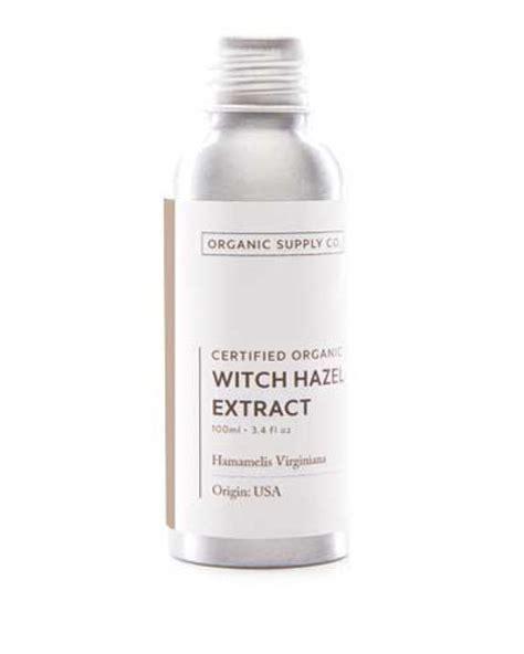 organic supply witch hazel extract 100ml