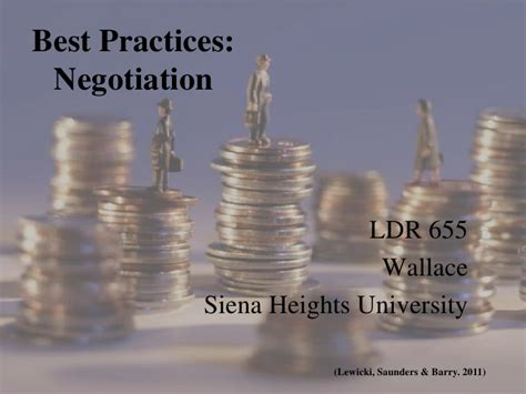 Best Practice 1 negotiation best practices