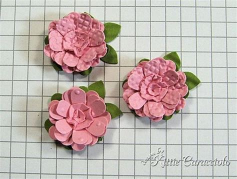 paper punch flower tutorial beautiful punched flower tutorial flowers from paper
