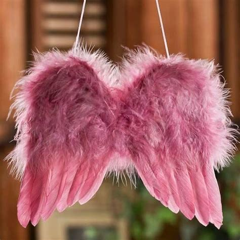 fluffy feather christmas tree decoration angel wings fluffy baby pink wings feather ornament decoration for photos wings