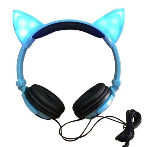 Ear Hearphones Cat Ear Headphones Gear