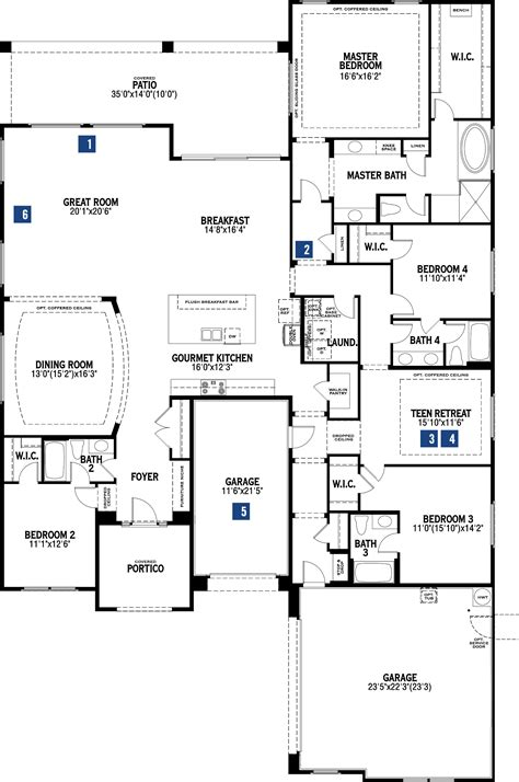 ellington floor plan the ellington in litchfield park welcome to palm valley mattamy homes