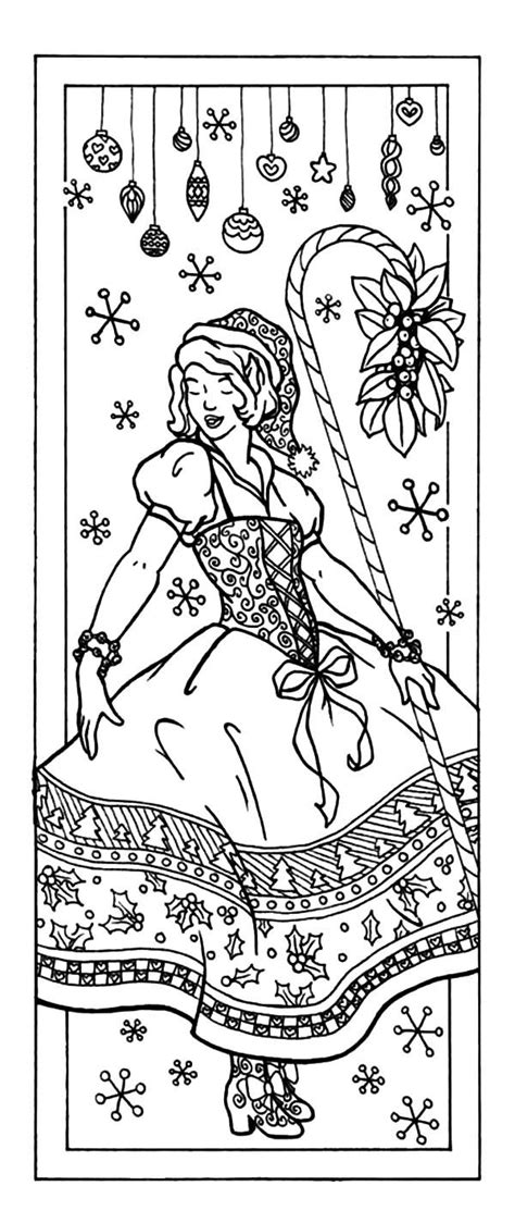 printable holiday bookmarks to color christmas bookmarks coloring pages best place to color