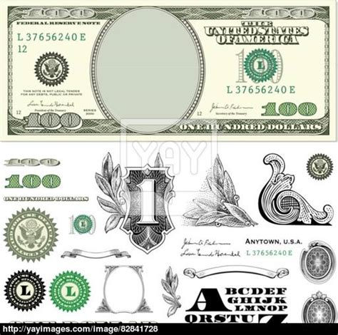 100 bill clipart clipart suggest