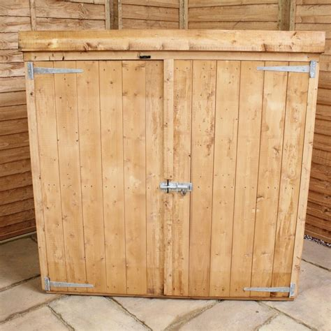 Wooden Garden Storage Mercia Pent Wooden Mower Store Garden Storage Unit