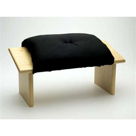 meditation bench cushion kneeling meditation seiza bench from zen with cushion