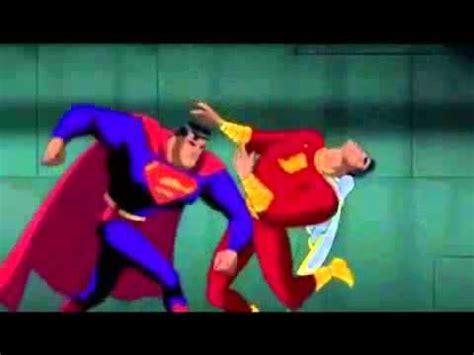 superman vs captain marvel shazam captain marvel vs superman all versions youtube