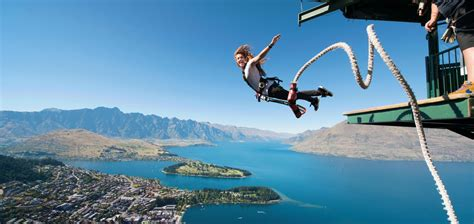 jump swing queenstown bungy swing zip queenstown nz