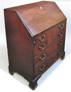 Bureau Drawer by George 111 Mahogany 4 Drawer Small Bureau Antiques Atlas