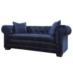 navy sleeper sofa norwalk navy velvet sofa