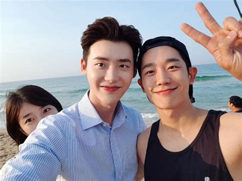 film lee jong suk dan suzy jung hae in bocorkan sifat asli lee jong suk dan suzy di