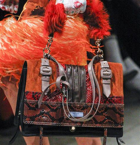 Fashion Miu Miu Single Bag Mini Series 1644 prada embraces both simplicity and maximalism for fall 2017 designer fashion handbags for
