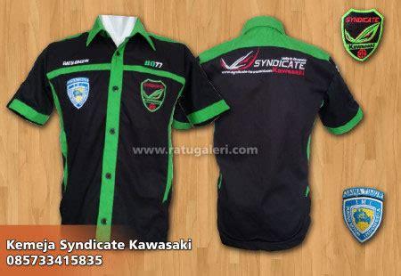 Kaos Klub Moge contoh dan desain seragam syndicate kawasaki bordir